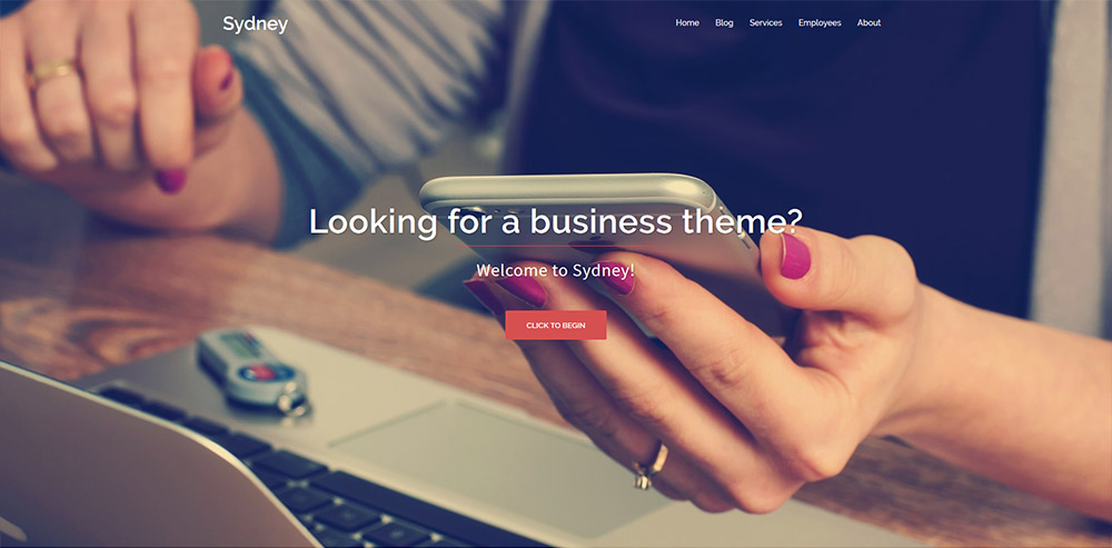 Sydney Free WordPress Theme - Best Free WordPress Themes