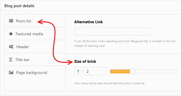 Set post to be 2 times wider in Rife Theme.