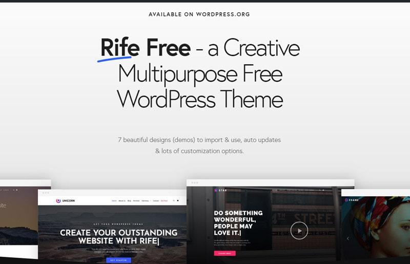 Rife-WordPress-Theme