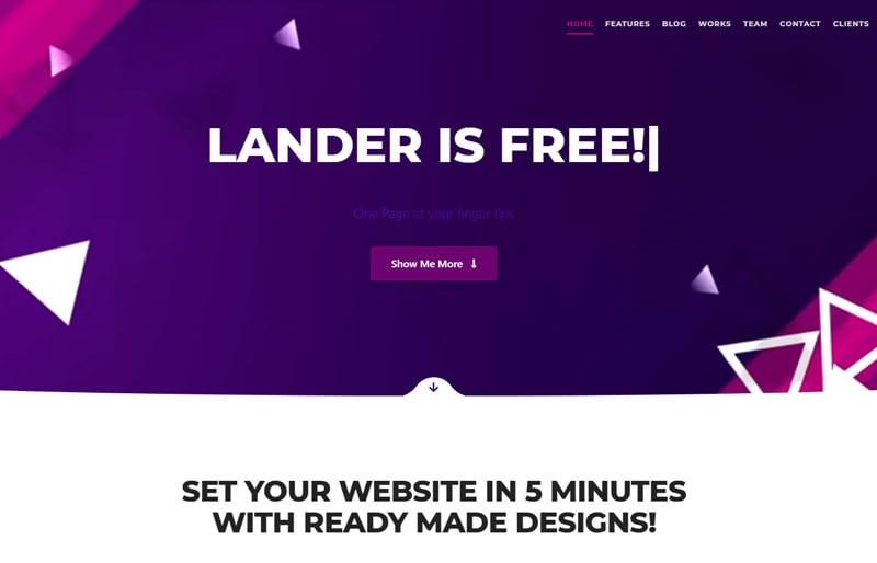 Lander-demo