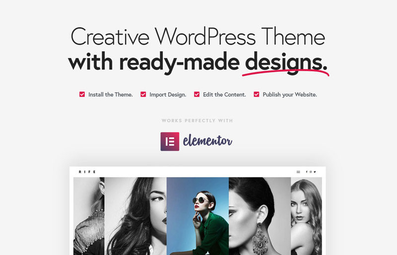 Rife Fast Loading Themes