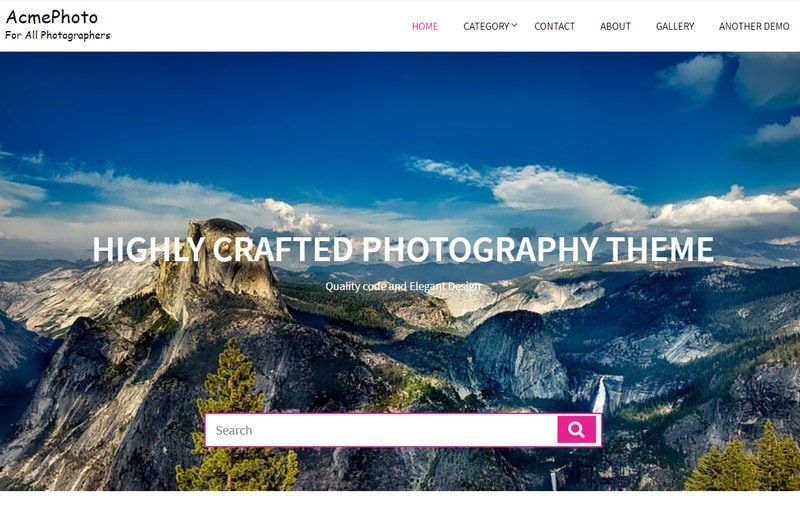 AcmePhoto-free-WordPress-themes-for-photography-sites