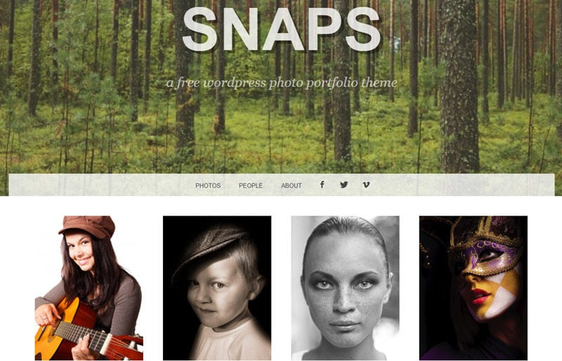 Snaps- free-WordPress-themes-for-photography-sites