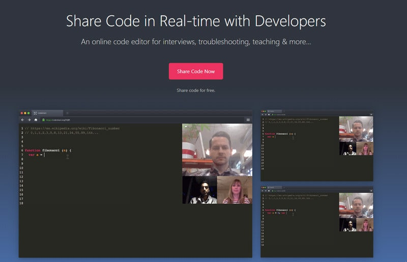codeshare-browser-code-editor