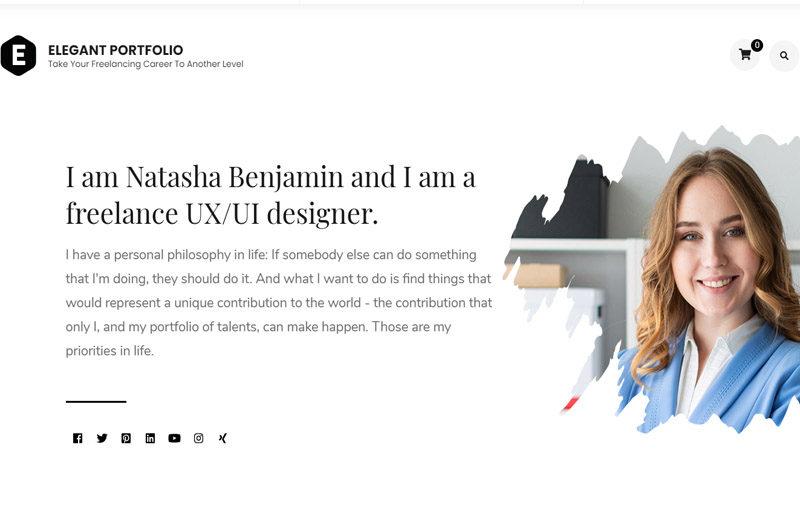 Elegant-portfolio