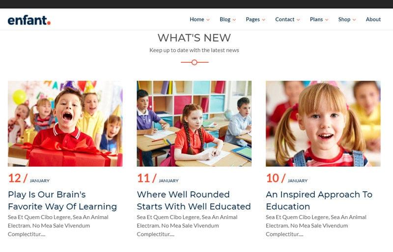 Kids-WordPress-theme