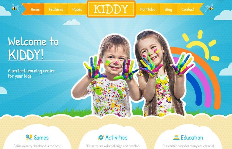 Kiddy-WordPress-theme