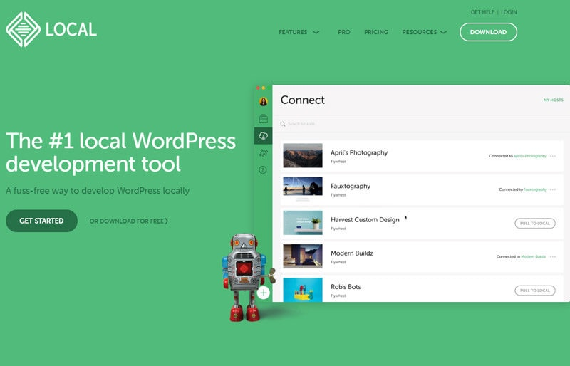 local WordPress development environment