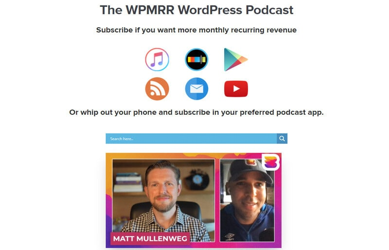 WPMRR WordPress Podcast
