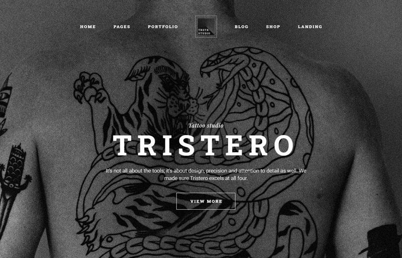 tristero-Wordpress-theme