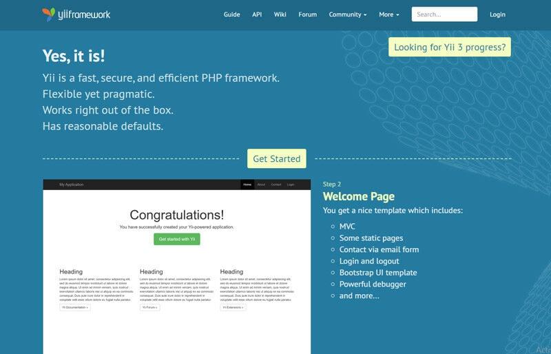 yii-framework