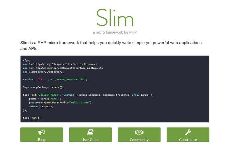 slim-micro-framework